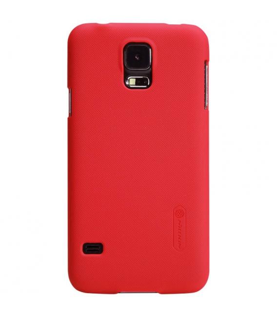 Púzdro Nillkin Super Frosted Samsung Galaxy Alpha - G900 červené
