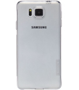Nature soft case 0,6 mm pre Samsung Galaxy Alpha, Gray
