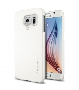 Púzdro SPIGEN Thin Fit Shimmery white, Galaxy S6
