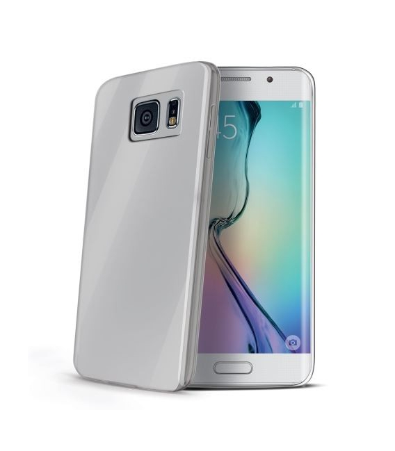 TPU púzdro CELLY Ultrathin pre Samsung Galaxy S6 Edge, bezfarebné