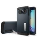Púzdro SPIGEN Slim Armor Metal slate, Galaxy S6 edge