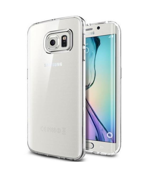 Púzdro SPIGEN Liquid Crystal Samsung Galaxy S6 edge