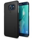 Púzdro SPIGEN Thin Fit Smooth black, Galaxy S6 Edge Plus