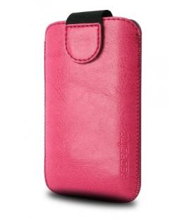 Púzdro RedPoint Tweak so zatváraním PU koža veľkosť 6XL ružové