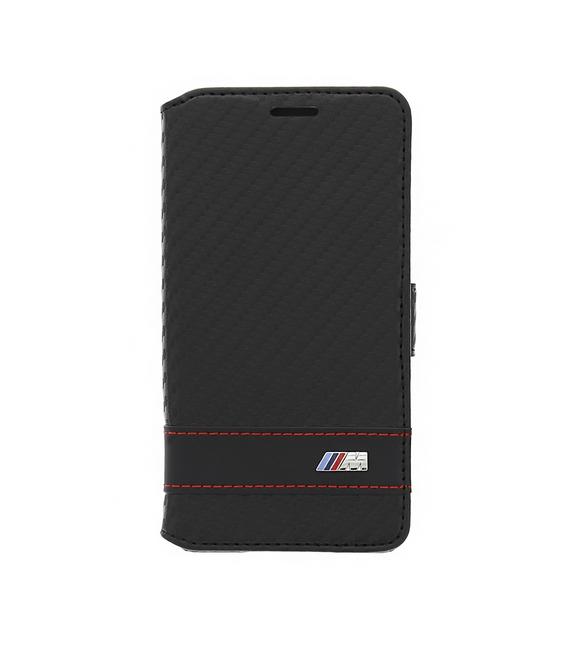 BMFLBKGAMCC BMW M Collection Book púzdro Carbon Black pre Samsung G850 Galaxy Alpha