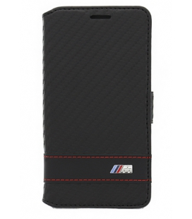 BMFLBKGAMCC BMW M Collection Book púzdro Carbon Black pre Samsung G850 Galaxy Alpha