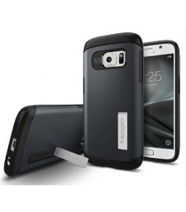 Púzdro SPIGEN Slim Armor Metal Slate, Galaxy S7