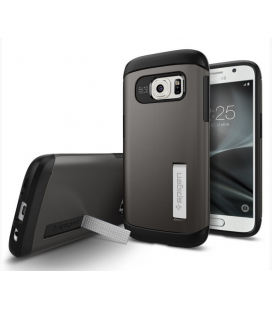 SPIGEN Galaxy S7 Case Slim Armor Gunmetal (555CS20012)