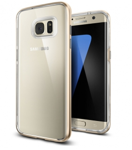 Púzdro Spigen Neo Hybrid Crystal Samsung Galaxy S7 Edge Champagne zlaté