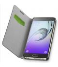 Puzdro typu kniha CellularLine Book Essential pre Samsung Galaxy A7 (2016), čierne