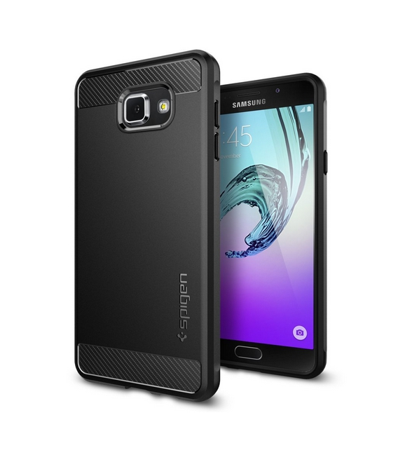 Spigen Rugged Armor, black - Galaxy A7 (2016)