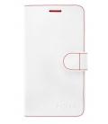 Puzdro typu kniha FIXED FIT pre Samsung Galaxy J7 (2016), biele
