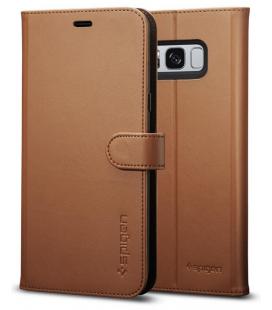 Púzdro Spigen Wallet S Samsung Galaxy S8 hnedé