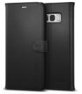 Púzdro Spigen Wallet S Samsung Galaxy S8 Plus čierne