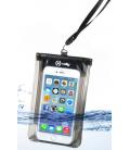 """Univerzálne vodeodolné púzdro CELLY Splash Bag pre telefóny 5,7"""", čierne SPLASHBAGBK"""