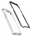 Púzdro Spigen Neo Hybrid Crystal Gunmetal Samsung Galaxy S8 Plus