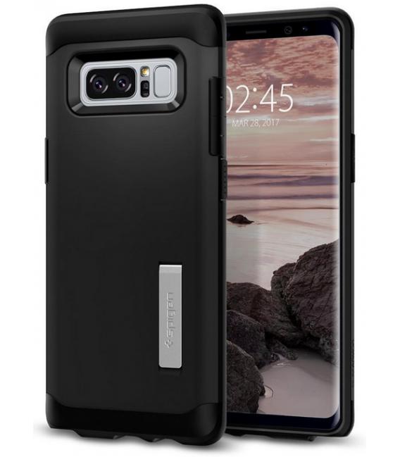 Púzdro SPIGEN Slim Armor black Samsung Galaxy Note 8 čierne