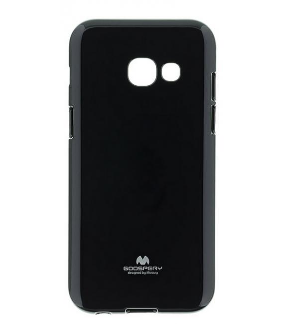 Púzdro Mercury Jelly Case Samsung A320 Galaxy A3 2017 čierne