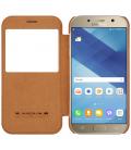 Púzdro Nillkin Qin View Samsung Galaxy A5 2017 - A520 hnedé