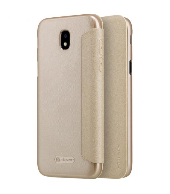 Púzdro Nillkin Sparkle Folio Samsung J730 Galaxy J7 2017 zlaté