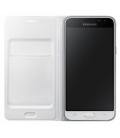 Samsung Originál flipové púzdro EF-FG800BW pre Galaxy S5 mini, Biela