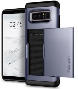 SPIGEN - Samsung Galaxy Note 8 Case Slim Armor CS Orchid Gray (587CS22073)