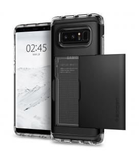 SPIGEN - Samsung Galaxy Note 8 Case Crystal Wallet Black (587CS21846)
