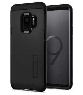 Púzdro SPIGEN Tough Armor black Samsung Galaxy S9