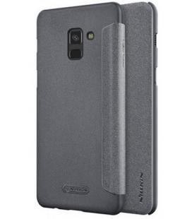 Nillkin Sparkle Folio Pouzdro Black pro Samsung A530 Galaxy A8 2018