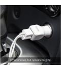 Anker 24W Dual-Port Rapid autonabíjačka - biela