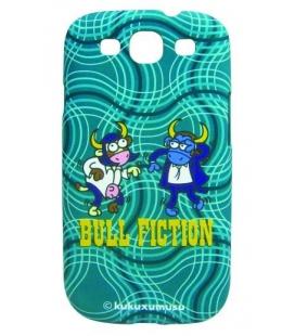 Zadný kryt KUKUXUMUSU pre Samsung Galaxy S III/S III Neo, motív Bull Fiction