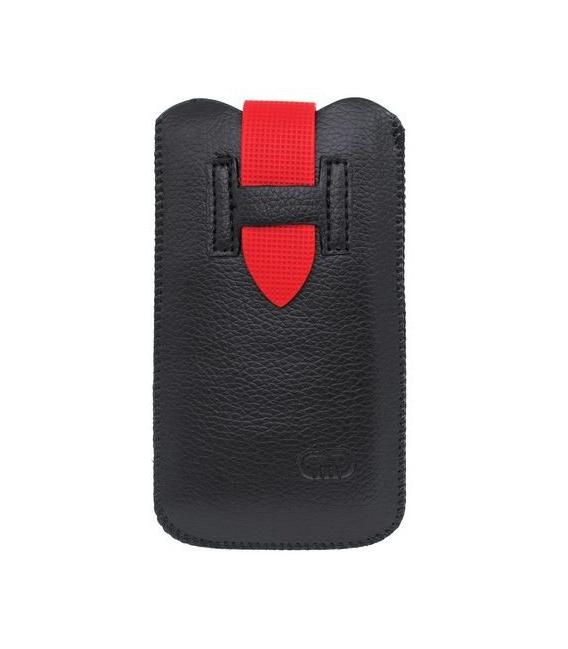 Pull Tab vrecko pre Samsung Galaxy S4 mini, čierna
